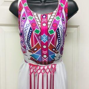 Summer Maxi Dress/ Size Medium